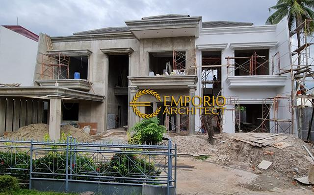 Construction Progress of Mr. Tony Private House - Jambi