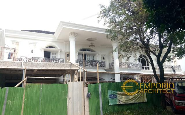 Construction Progress of Mrs. Endang Private House - Cibubur, Jakarta