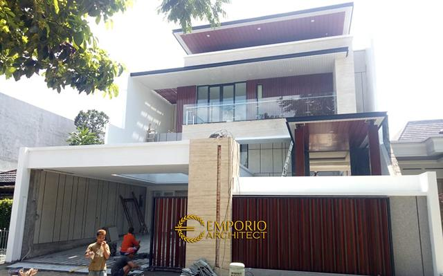 Construction Progress of Mrs. Jeanette Private House - Bogor, Jawa Barat