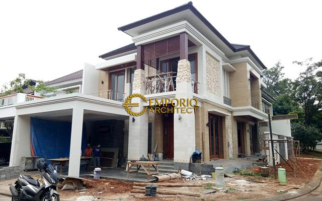 Construction Progress of Mrs. Siska Private House - Cibubur, Jakarta