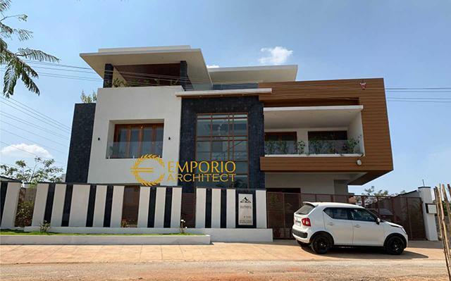 Hasil Konstruksi Rumah dr. Kailash Prabudev di  Bangalore, India