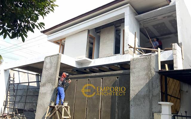 Construction Progress of Mr. Agon Private House - Jakarta