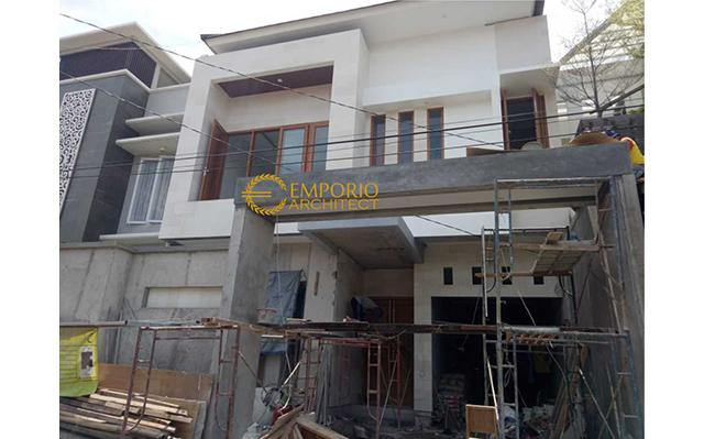 Construction Progress of Mr. Denny Private House - Jakarta