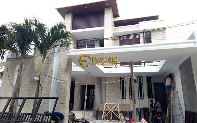 Construction Progress of Mr. Ricky Private House Design - Bekasi