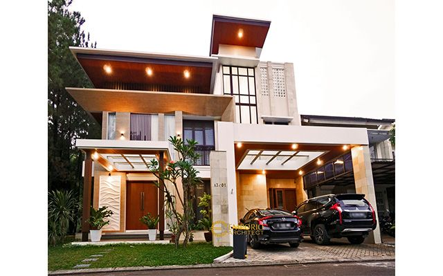 Construction Result of Mrs. Dina Private House Design - BSD, Tangerang