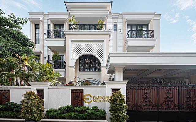 Hasil Konstruksi Rumah Ibu Ines di  Jakarta