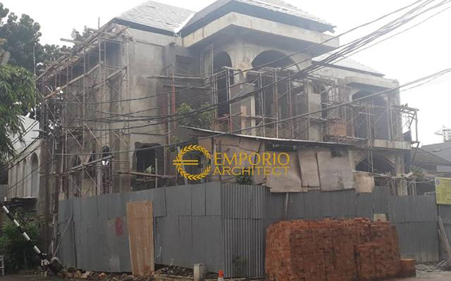 Progress Pembangunan Rumah Bapak Darwis di  Jakarta Selatan