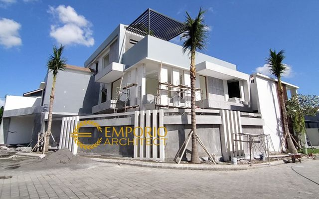 Construction Progress of Mr. Joky Private House - Munggu, Badung, Bali