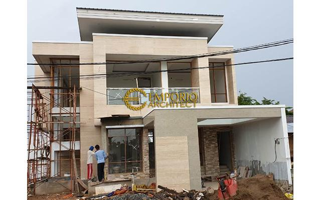 Construction Progress of Mr. Okov Private House - Palembang