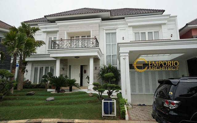 Construction Result of Mr. Yanson Hutabarat Private House - Cibubur, Jakarta