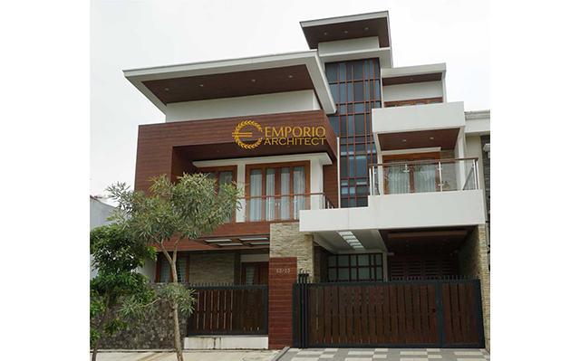 Hasil Konstruksi Rumah Bapak Andrika di  Tangerang