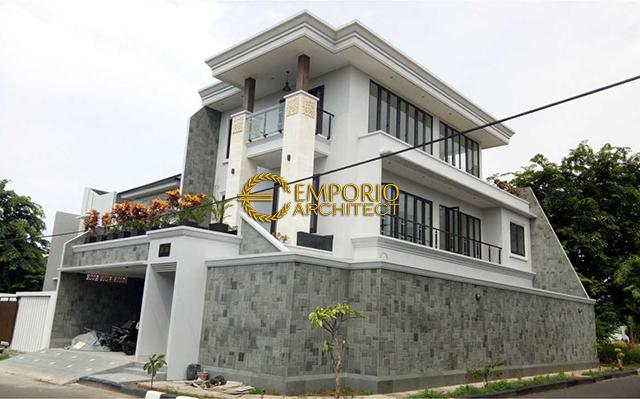 Construction Progress of Mr. Fahmi Private House - Jakarta