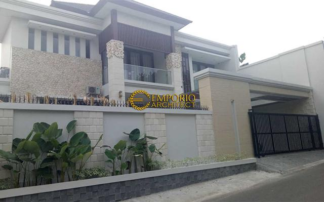 Hasil Konstruksi Rumah Bapak Faishal di  Bintaro, Jakarta Selatan