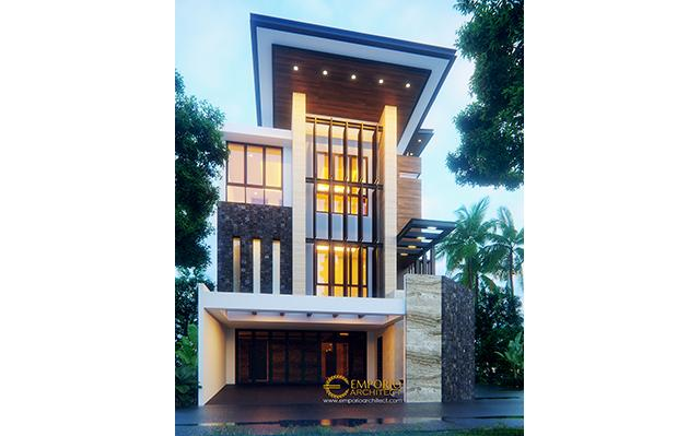 Mr. Reza Modern House 3 Floors Design - Jakarta