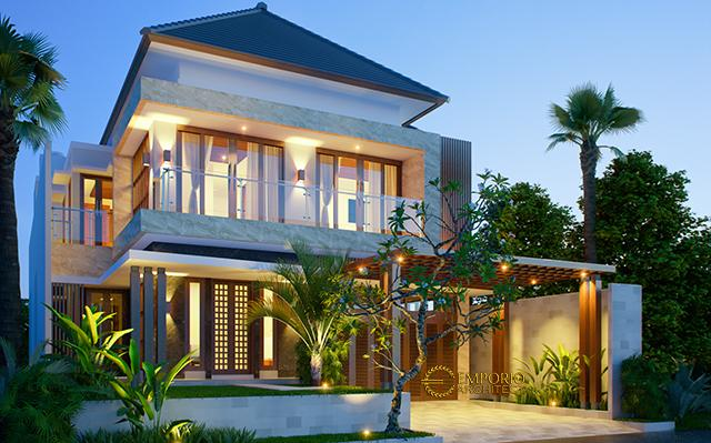 Mr. Ahyar Modern House 2 Floors Design - Aceh