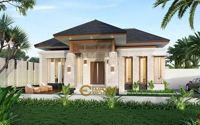 Mr. Farizal II Villa Bali House 1 Floor Design - Aceh