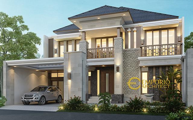 Mr. Helmi Villa Bali House 2 Floors Design - Aceh