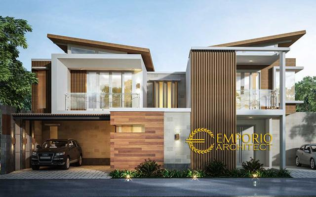 Mrs. Irene Modern House 2 Floors Design - Badung, Bali