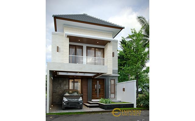 Mrs. Desi Modern House 2 Floors Design - Badung, Bali