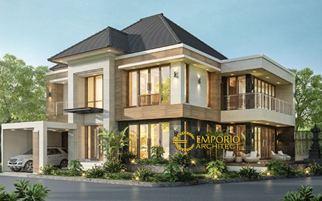 Mr. Kade Arnyana Modern House 2 Floors Design - Badung, Bali