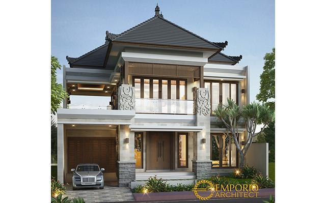 Desain Rumah Villa Bali 2 Lantai Bapak Edy di  Kuta, Bali