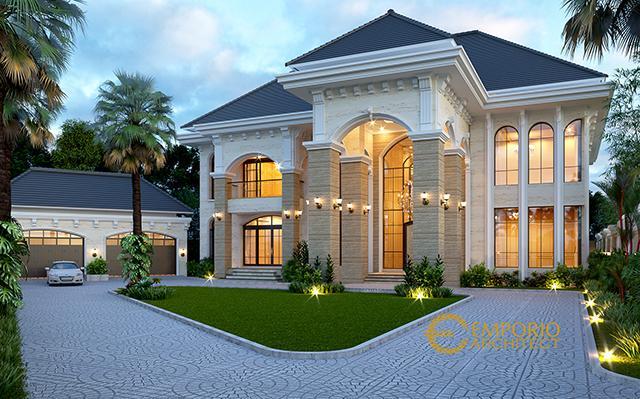 Mr. Agus Mediteran House 2 Floors Design - Balikpapan
