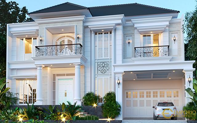 Mrs. Rahma Classic House 2 Floors Design - Balikpapan