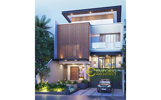 Mr. Laode Modern House 3 Floors Design Type B - Balikpapan, Kalimantan Timur