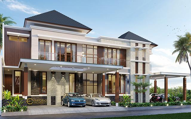 Mr. Sakti Modern House 2 Floors Design - Bandar Lampung