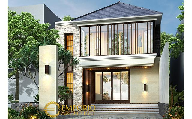 Mrs. Erna Modern Boutique 2 Floors Design - Bandung