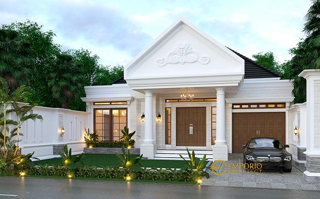 Mr. Abdullah Classic House 1 Floor Design - Bandung