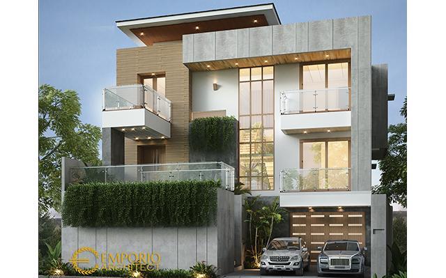 Mrs. Istia Modern House 3 Floors Design- Bandung