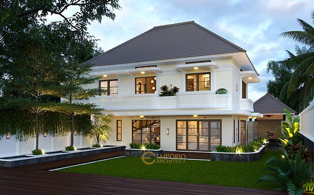 Mr. Dian Classic House 2 Floors Design - Bandung, Jawa Barat