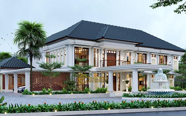 Mr. Tjusnandar Classic House 2 Floors Design - Bangka Belitung