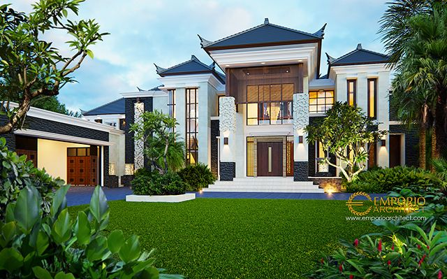 Mr. Irwan Villa Bali House 2 Floors Design - Banjarmasin
