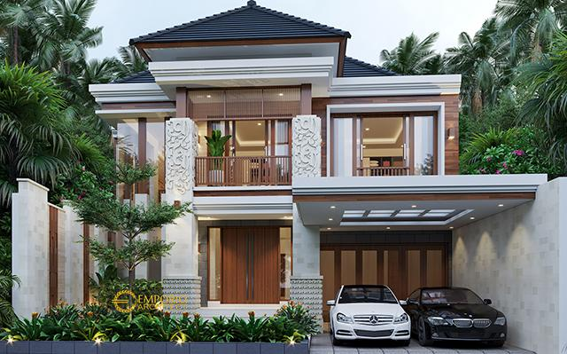 Mr. Nolly Villa Bali House 2 Floors Design - Banyuwangi