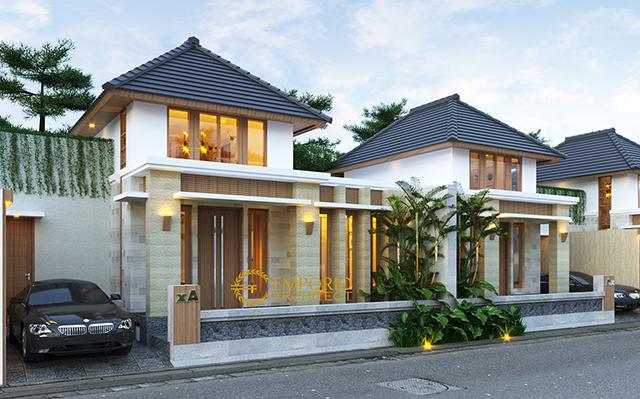 Desain Perumahan Villa Bali 2 Lantai Bapak Saifullah di  Banyuwangi, Jawa Timur