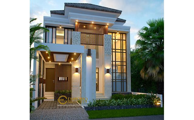 Beverly Park Villa Bali House 2 Floors Design Type A6 - Batam
