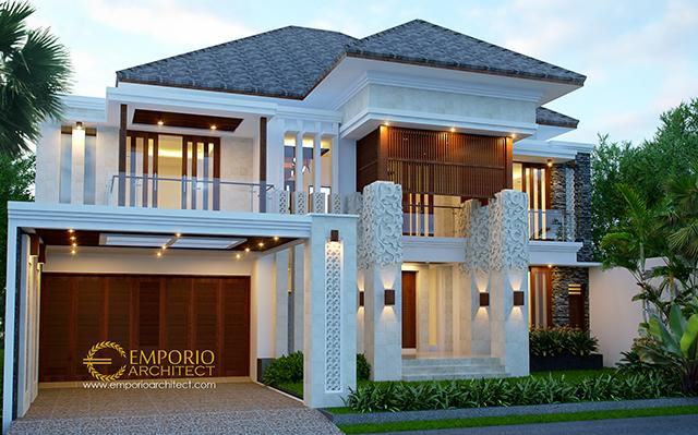 Beverly Ave Villa Bali House 2 Floors Design Type A10 - Batam