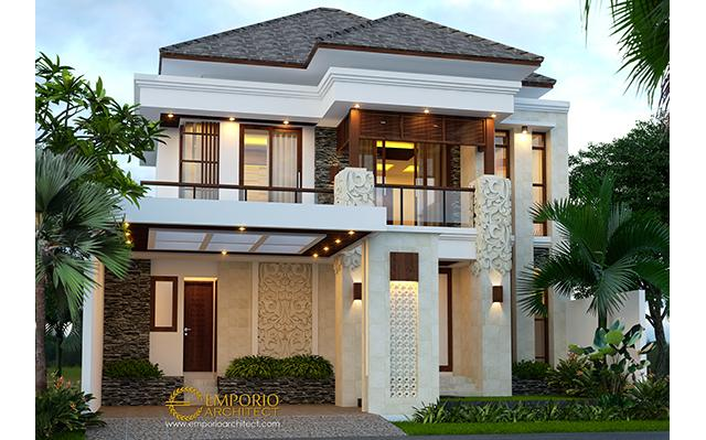 Beverly Park Villa Bali House 2 Floors Design Type A38 - Batam