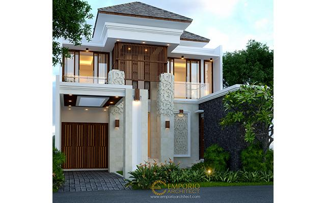 Beverly Park Villa Bali House 2 Floors Design Type C2 - Batam