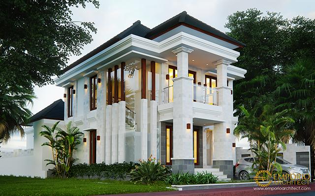 Mr. Rudi Villa Bali House 2 Floors Design - Batam