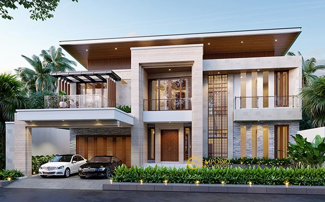 Mr. Vitorio Modern House 3 Floors Design - Batam