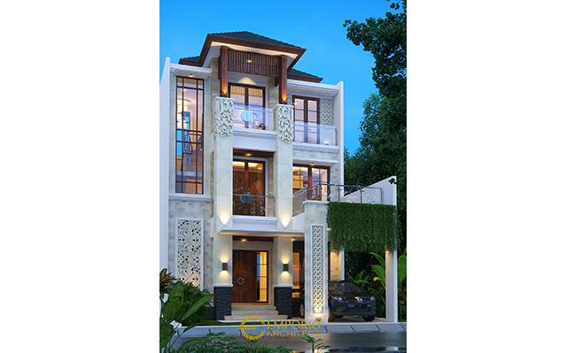 Mrs. Sri Villa Bali House 3 Floors Design- Batam