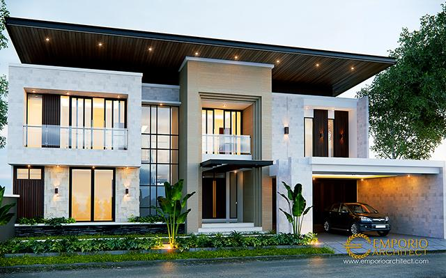 Mr. William Modern House 2 Floors Design - Bekasi