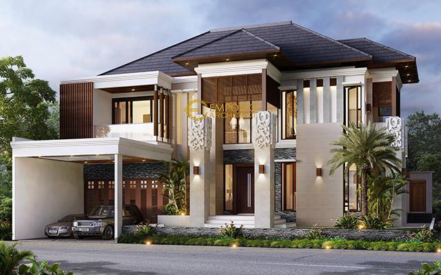 Mrs. Ponky Villa Bali House 2 Floors Design - Bekasi