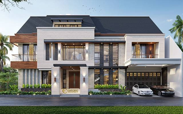 Mr. Teddy Modern House 3 Floors Design - Bekasi, Jawa Barat