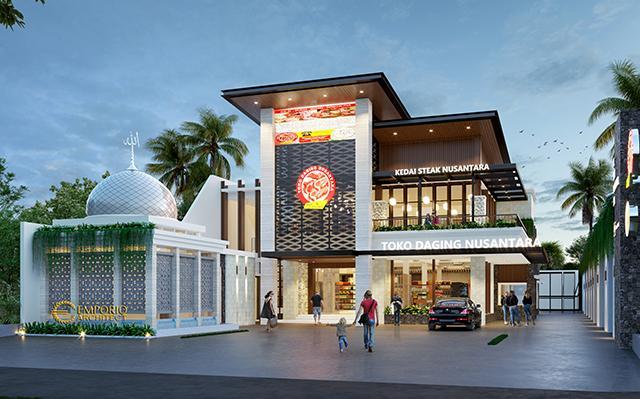 Suri Nusantara Modern Meat Shop and Steakhouse 2 Floors Design - Bekasi, Jawa Barat