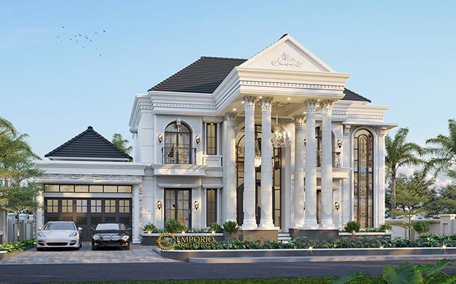 Mr. Alex Classic House 2 Floors Design - Bengkulu