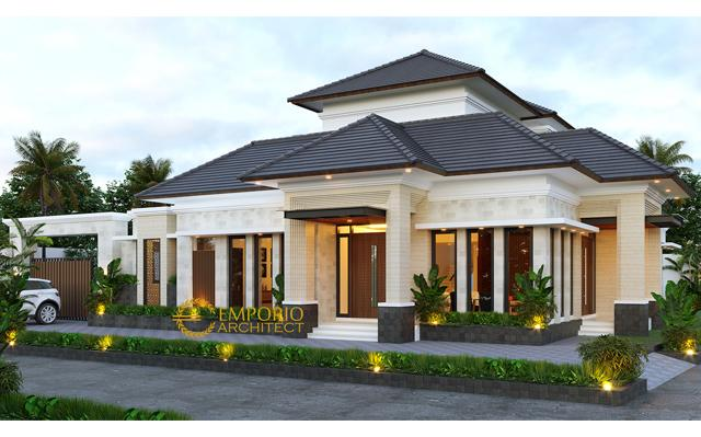 Mr. Fauzal Villa Bali House 2 Floors Design - Bireuen, Aceh